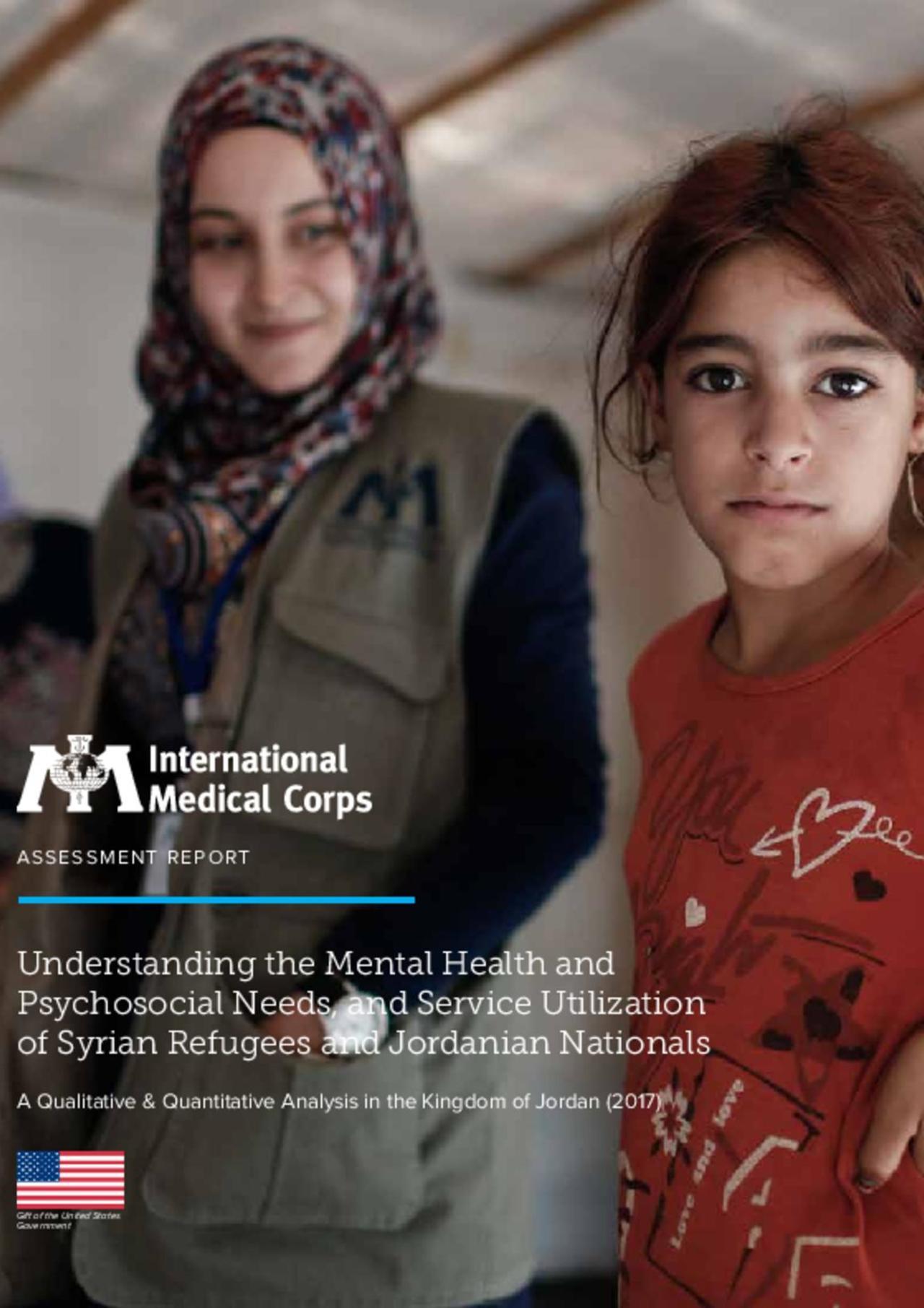 IMC 2017 Jordan MHPSS Assessment- MHPSS Needs & Service Utilization of Syrians & Jordanians